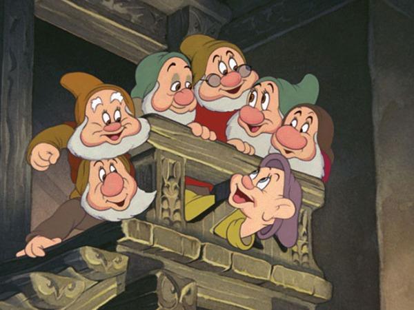 Biancaneve e i sette nani walt disney primo lungometraggio
